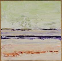 Verok Gnos, Planet Meer, 20 x 20 cm, Acryl auf Leinwand, wird als Trilogie versteigert